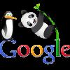 Pandas and Penguins:  Google SEO algorithms.